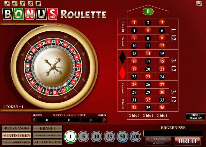 Bonus Roulette Vorschau