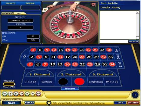 live-Roulette im Europa-Casino